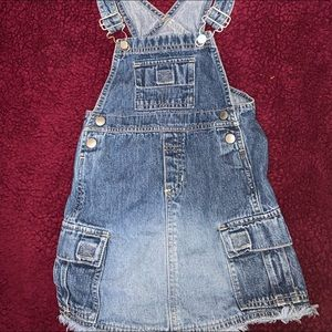 Old Navy - Toddler 3T Overall Blue Jean Dress $15